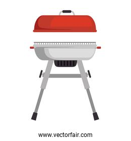 grill oven isolated icon