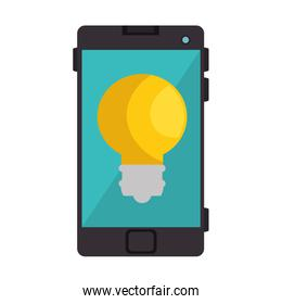 smartphone device with bulb