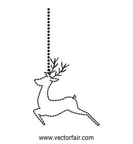 reindeer animal hanging decorative