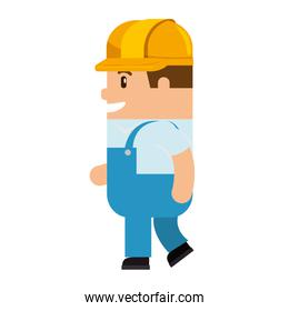 funny builder avatar character
