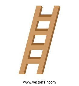 construction stair isolated icon