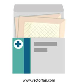 medical box with medicinal patches