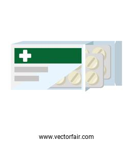 medical box with pills