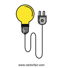 bulb energy light with wire