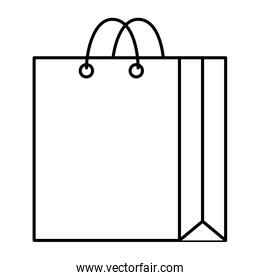 paper shopping bag icon