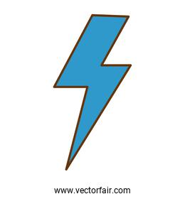 thunder ray isolated icon