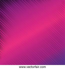 geometric figures with fuchsia background