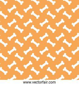 bones mascot pattern background