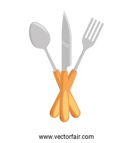 set cutlery tools icon
