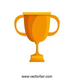 trophy cup award gold color icon
