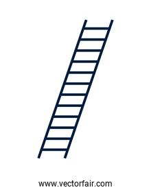 stairs up tool isolated icon