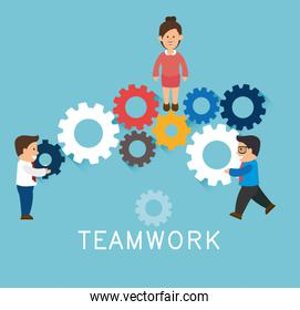 Teamwork support and leadership