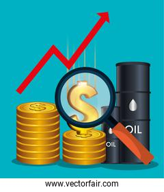Oil prices and industry