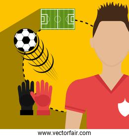 Soccer team sport and games