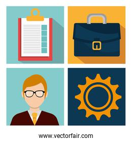 Business consulting graphic
