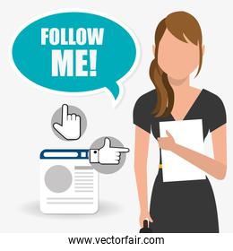 Follow me social trends