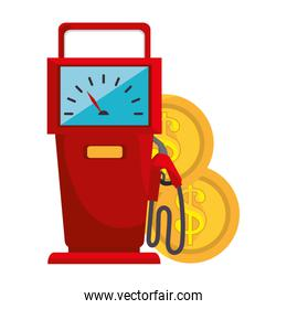 fuel station service icon