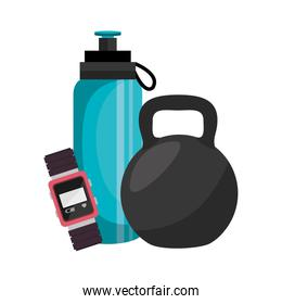 bottle water gym icon