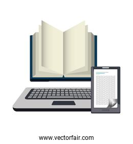electronic book technology icon