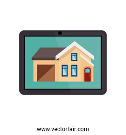 tablet device with smarthouse