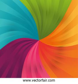 Background of varied colors