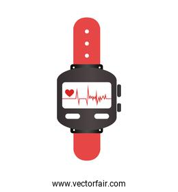 colorful watch with screen Heartbeat monitoring