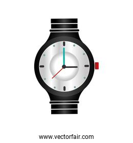 hand watch isolated design