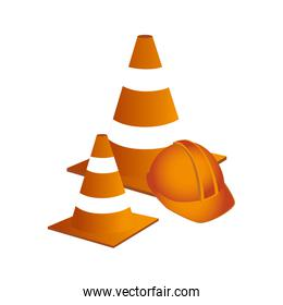 construction tool isolated icon