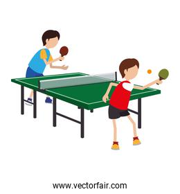 ping pong player avatar