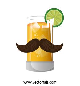mexican cocktail drink icon