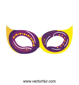 mask carnival isolated icon