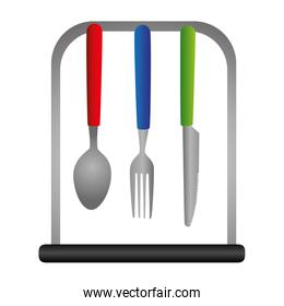 kitchen cutlery tools icons