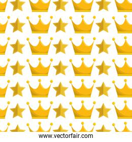 crown queen gold icon