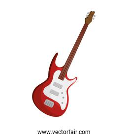 guitar electric instrument isolated icon