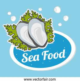 Sea food gastronomy