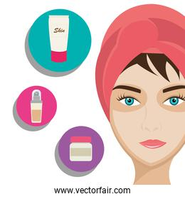 Make-up and womens cosmetics