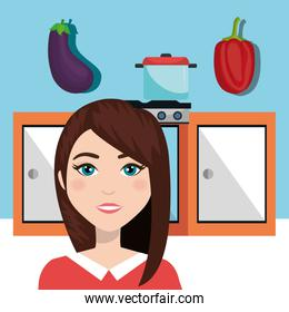 Kitchen and cooking graphic