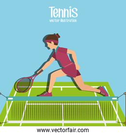 Sport games graphic