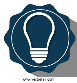 Bulb or big idea icon