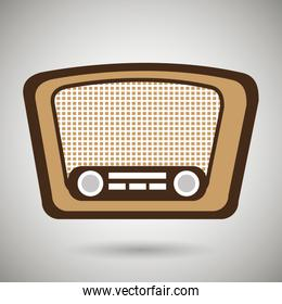 radio retro design