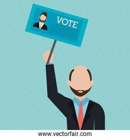 elections icon design