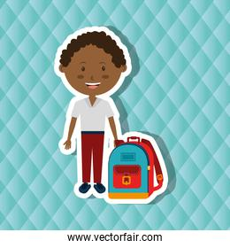 students back to school  design
