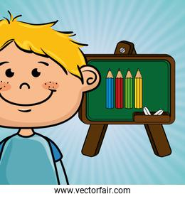 student cartoon color