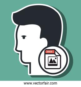 silhouette images photo icon