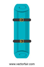 first aid colorful stretcher,vector graphic