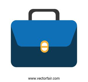 colorful suitcase with square,vector graphic