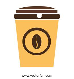 colorful coffee cup,vector graphic