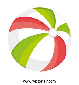 colorful beach ball,vector graphic