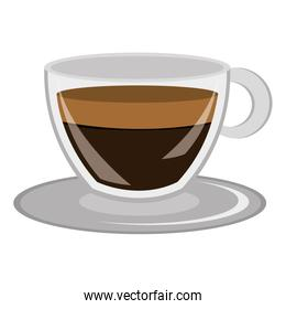 modern cup of coffee,vector
