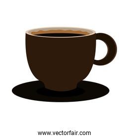 modern cup of coffee  graphic